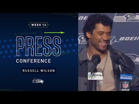 Russell Wilson Postgame Press Conference vs Vikings   2019 Seattle Seahawks