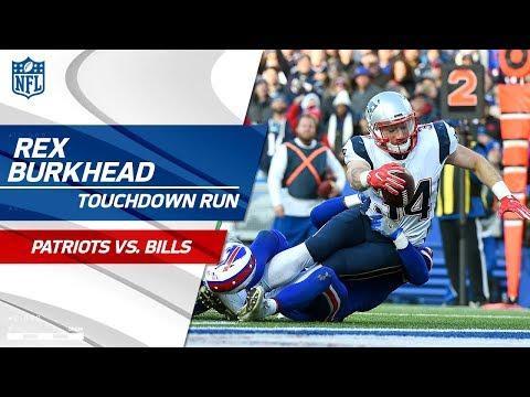 Video: Rob Gronkowski's Huge Grab Leads to Rex Burkhead's Diving TD! | Patriots vs. Bills | NFL Wk 13