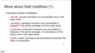 OO Design In Java - PPT Lecture 1 - Live (1/31/11)