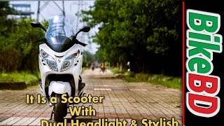 7. Znen Vista 150 Scooter Review,Top Speed,Specifications,Price In Bangladesh