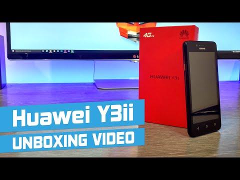 Huawei Y3ii Unboxing