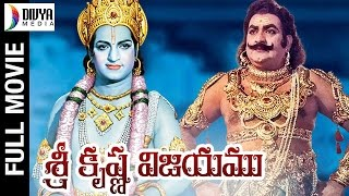 Video Shri Krishna Vijayam Telugu Full Movie HD | NTR | Kantha Rao | Jayalalitha | S. V. Ranga Rao MP3, 3GP, MP4, WEBM, AVI, FLV Desember 2018