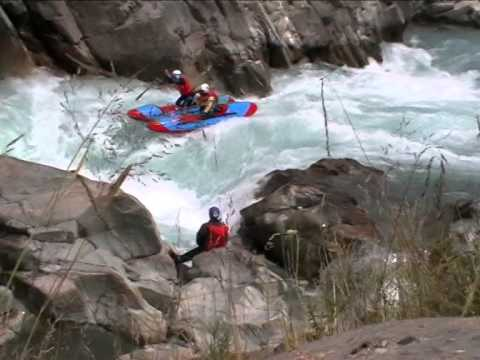 Rafting on the rivers of Kyrgyzstan