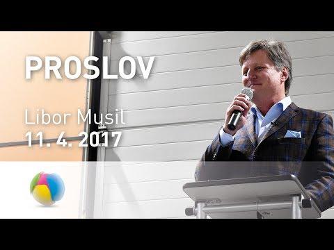Vystoupení Libora Musila na slavnostním ukončení hospodářského roku - 7. dubna 2017