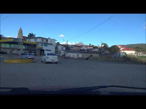 Dirigindo em Bom Retiro, SC - Driving in Brazil