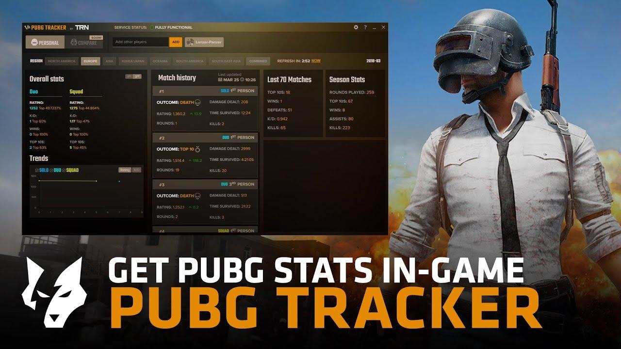 PUBG Tracker