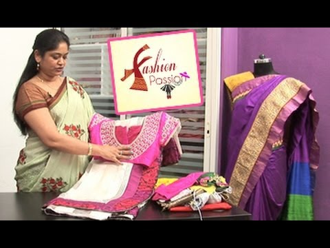 Blouse - Saree Blouse Patterns: Traditional and Trendy Blouse Designs By Fashion Designer Varudini Non-Stop Comedy - http://www.youtube.com/user/navvulatv Animated Rh...