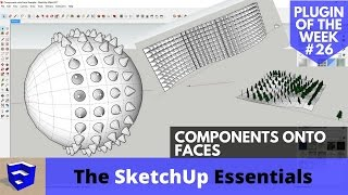 Video Cool Shapes with Components onto Faces - SketchUp Extension of the Week # MP3, 3GP, MP4, WEBM, AVI, FLV Desember 2017