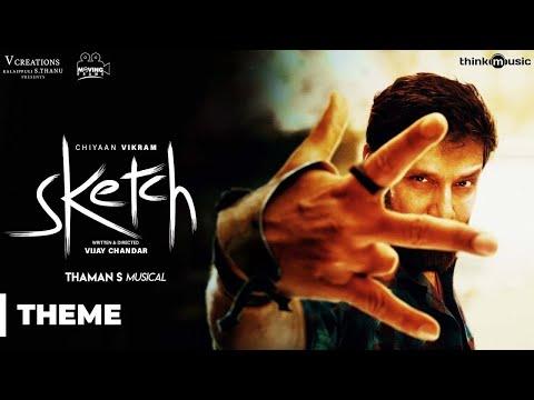 Download Sketch Theme (Promo) Song | Chiyaan Vikram | Vijay Chandar | Thaman S HD Mp4 3GP Video and MP3