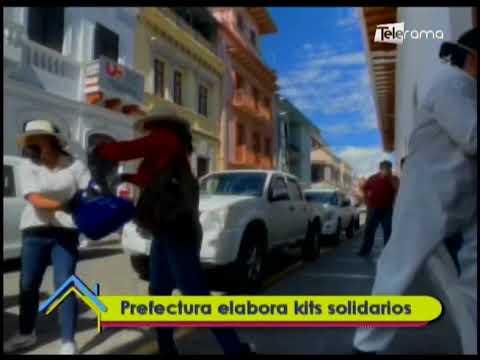 Prefectura elabora kits solidarios