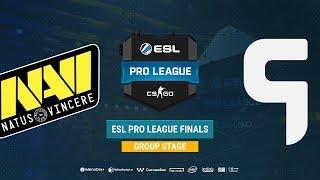 Na`Vi vs Ghost - ESL Pro League S8 Finals - map3 - de_mirage [Gromjkee & CrystalMay]