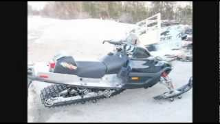 9. 2003 Arctic Cat ZR 900 Modified ( A.K.A. The Black Widow )