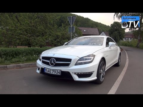 2014 Mercedes CLS 63 AMG (558hp) – DRIVE & SOUND (1080p)