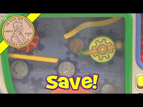 SAVER - Get This Item From the Lucky Penny Shop! http://luckypennyshop.com/shop/leap-frog-super-saver-bank/ Watch more Leap Frog Toy Videos: http://www.youtube.com/p...