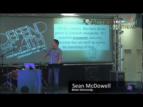 "Sean McDowell – ""Equipping Youth with a Biblical Worldview"""