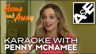 Video Penny McNamee from Home and Away plays Karaoke MP3, 3GP, MP4, WEBM, AVI, FLV Oktober 2018