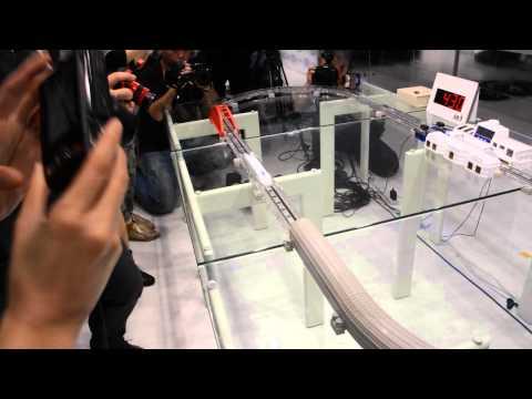 世界首部磁浮列車玩具 最高速度500km/h?
