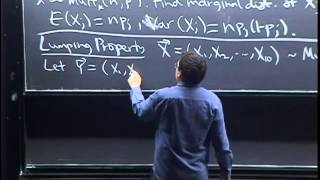 Lecture 20: Multinomial And Cauchy   Statistics 110