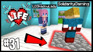 DID THIS TRAP DOOR KILL ME!? | Minecraft X Life SMP | #31