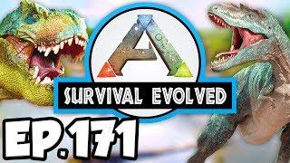 ARK: Survival Evolved Ep.171 - EPIC DODOREXY VS WARDEN DINOSAURS BATTLE! (Modded Dinosaurs Gameplay)