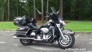 10. Used 2008 Harley Davidson Ultra Classic Electra Glide Motorcycles for sale - Sarasota, FL