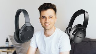 Video Bose QuietComfort 35 II vs Sony WH 1000Xm2 | Wireless Noise Canceling Headphone Test Comparison MP3, 3GP, MP4, WEBM, AVI, FLV Juli 2018