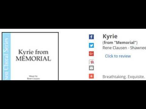 Kyrie (Rene Clausen)