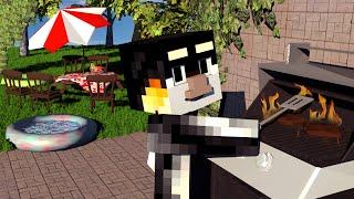 Minecraft   REALISTIC BACKYARD FURNITURE! Furniture Mod Showcase!