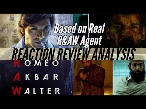 Romeo Akbar Walter Teaser Review | True Story of RAW in 1971 | John Abraham Plays RAW Agent
