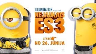 """Gru un minionu komanda atgriezīsies animācijas filmā """"Nejaukais es 3"""", jo tikai viņiem (un superslepenajai organizācijai) ir pa spēkam notvert ļaundari Baltazaru Bretu! Un ko domājies - Gru satiks savu dvīņubrāli Dru! Tas tik būs jautri!Kinoteātros visā Latvijā no 26.jūnija. Tiekamies kino! http://www.uzkino.lv/Event/301354/"""