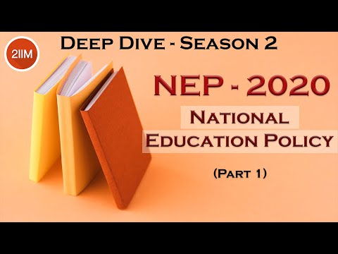 National Education Policy - Part 1a | School Education | DeepDive S2 | Current Affairs | WAT GD PI