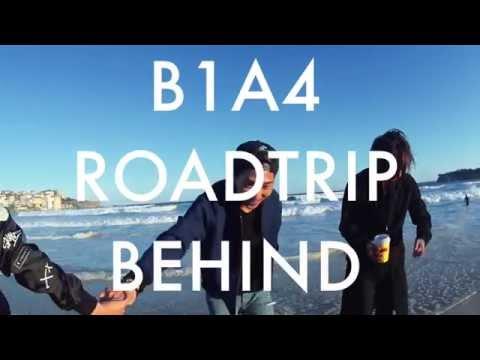 B1A4 'Road Trip - Ready?' Behind Clip #14 BONDI BEACH