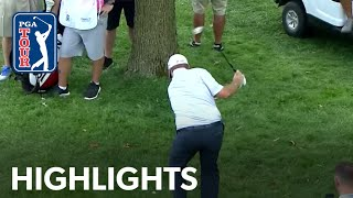 Flag helps Shane Lowry to make birdie at BMW Championship 2019 by PGA TOUR