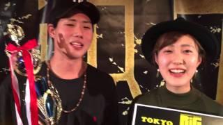 """HocusPocus"" BIG BANG!!TOKYO 優勝コメント"