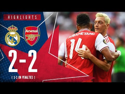 HIGHLIGHTS | Real Madrid 2-2 Arsenal | 3-2 on penalties | ICC 2019