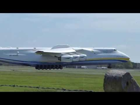 airport - AN-225 Landing at Shannon Airport (SNN), Ireland on the 21st May 2013 at Approx 1.30pm. This aircraft was coming from Houston, Texas. The An-225 is the world...
