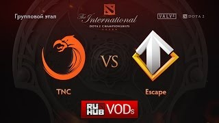 TnC vs Escape, game 1