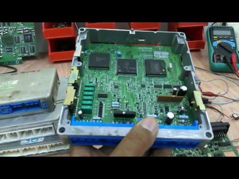 Exploring the ECU hardware and testing - Part 1 (Hardware circuit demonstration)