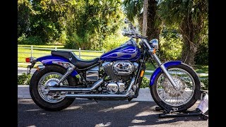 8. 2005 Honda Shadow Spirit 750