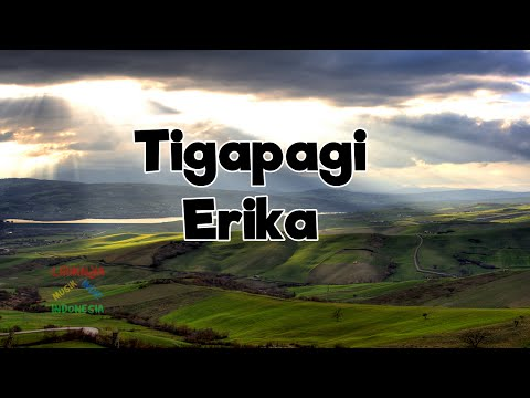 Tigapagi - Erika | Video Lirik
