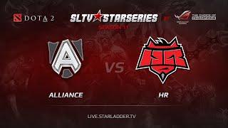 HR vs Alliance, game 1
