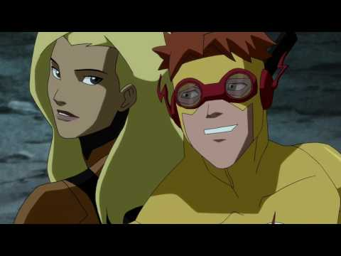 Young Justice Season 2 |Kid Flash & Artemis |All Moments