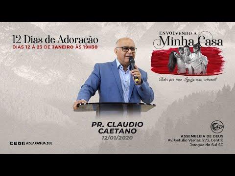 Pastor Claudio Caetano - Minha Casa, lugar onde pr