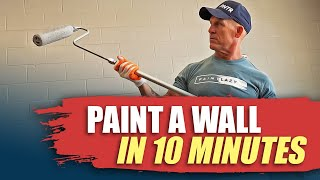Download Video ROLLING WALLS FAST.  How to paint a room in 1 hour.  Fast painting hacks. DIY house painting. MP3 3GP MP4