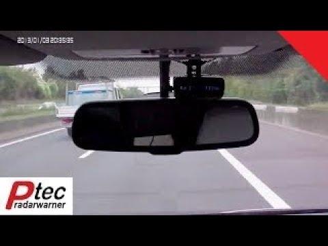 Genevo ONE S Black Edition Testfahrt Firma PTEC Radarwarner