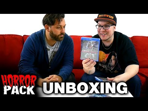 May 2017 Horror Pack Unboxing! - Horror Movie Subscription Box