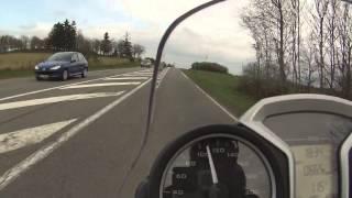 8. Balade en moto// BMW  R1200R // Auvergne //  GOPRO