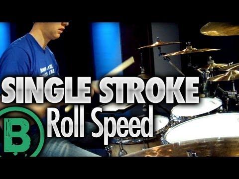 Single Stroke Roll Speed