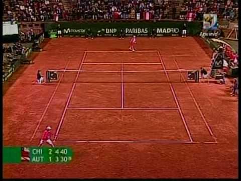 Jurgen Melzer enfrenta a Nicolas Massu por la Copa Davis 2009
