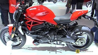 8. 2019 Ducati Monster 1200 R Accessorized - Walkaround - 2018 EICMA Milan
